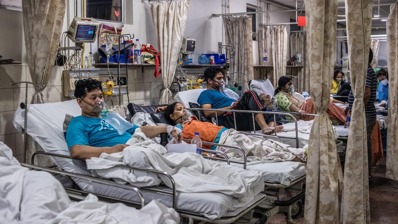 Crisis de COVID-19 se intensifica en India (Getty Images)