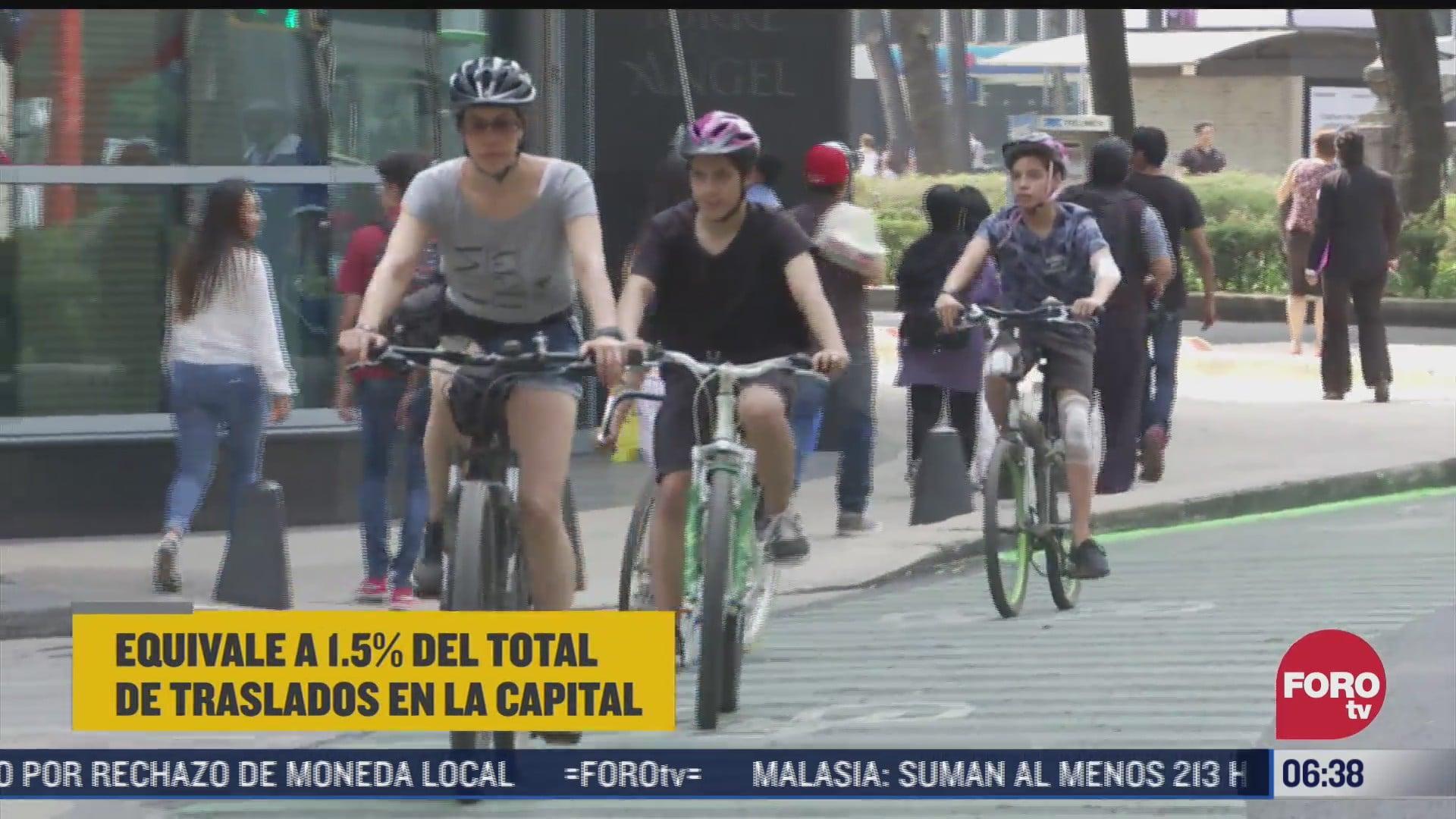 crece uso de bicicleta como medio de transporte en cdmx