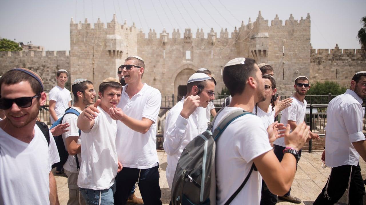 Puerta de Damasco, video, Israel, Palestina, Jerusalén