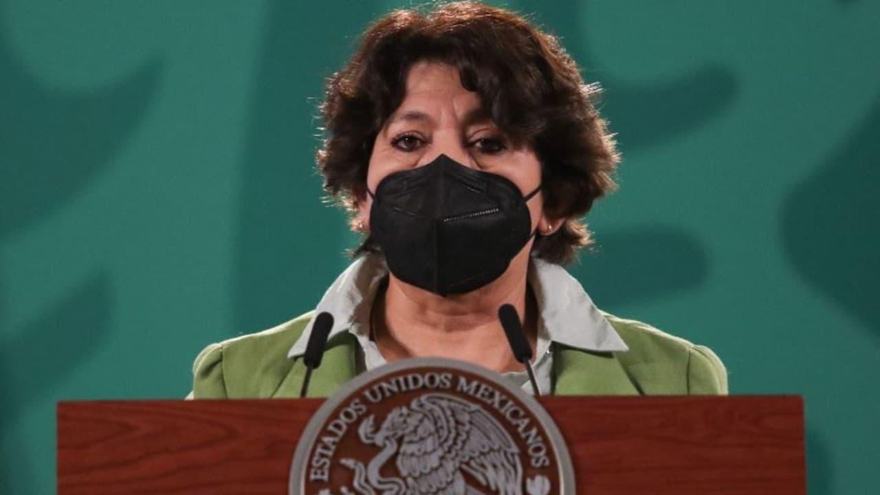 Delfina Gómez, titular de la SEP