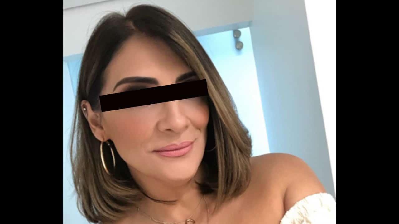 Azalia Ojeda fue detenida por cobrar un cheque robado