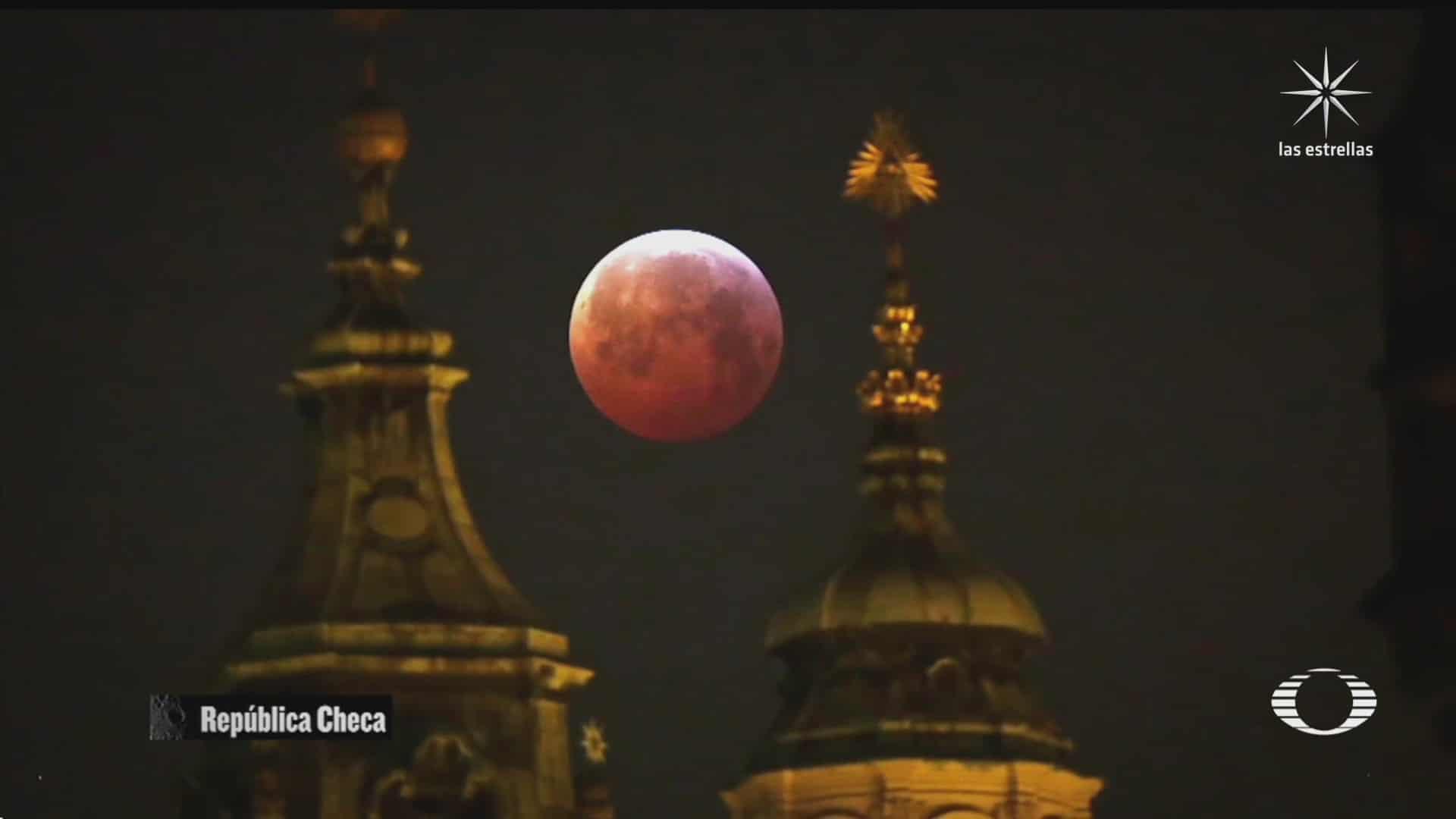 dos espectaculares fenomenos en la luna