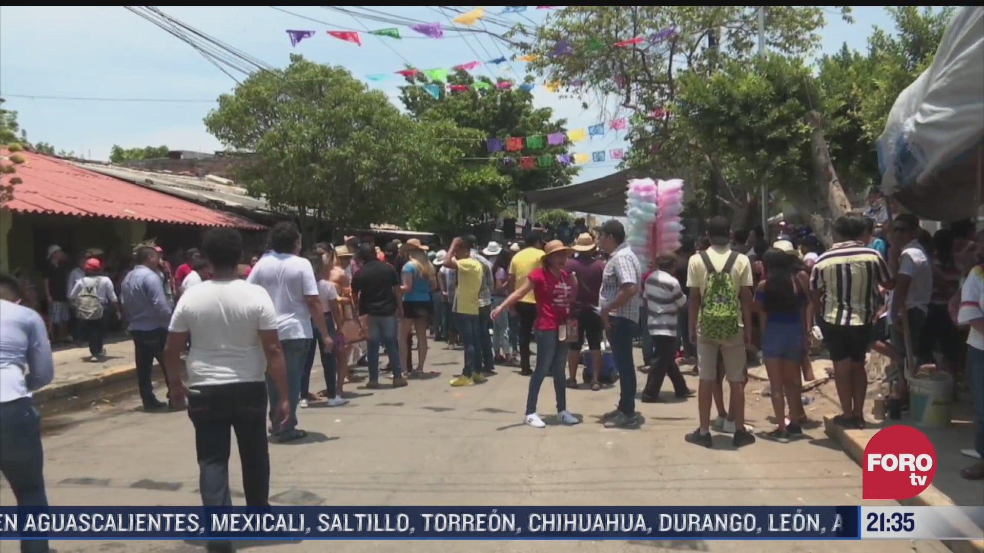 dos muertos y tres heridos tras balacera en palenque en acapulco