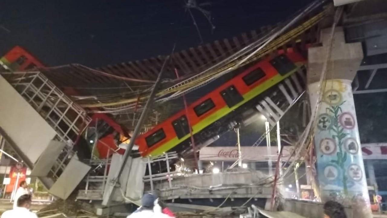 Ebrard lamenta 'la terrible tragedia' ocurrida en la Línea 12 del Metro CDMX