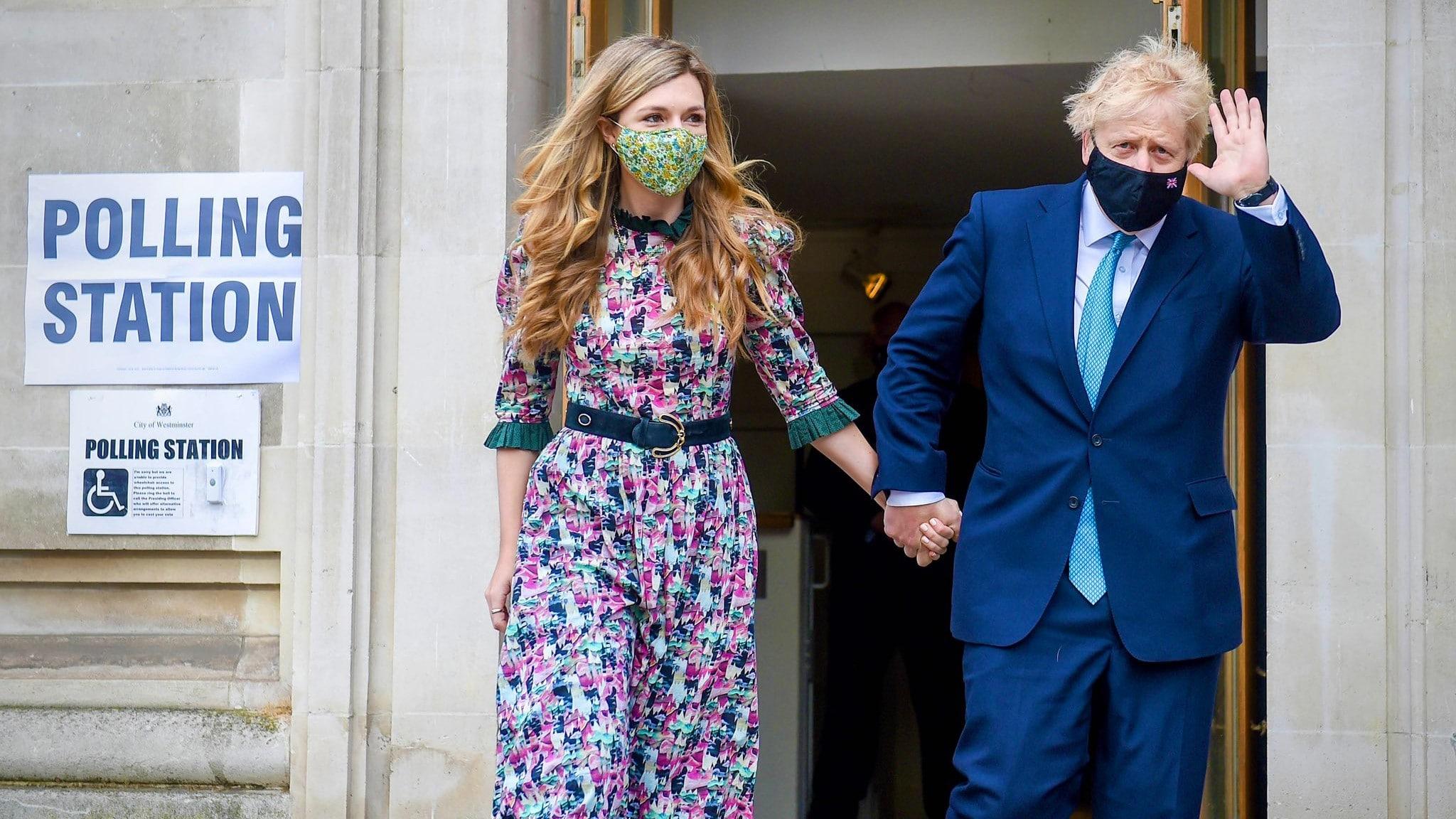 Reportan boda secreta del primer ministro británico, Boris Johnson