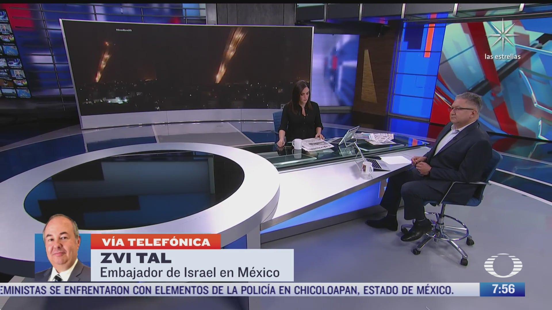 entrevista con zvi tal embajador de israel en mexico para despierta