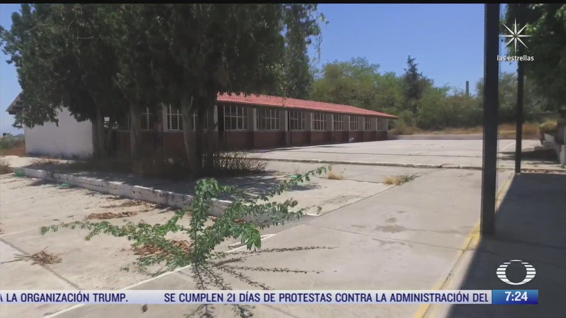 escuelas vandalizadas durante la pandemia de covid