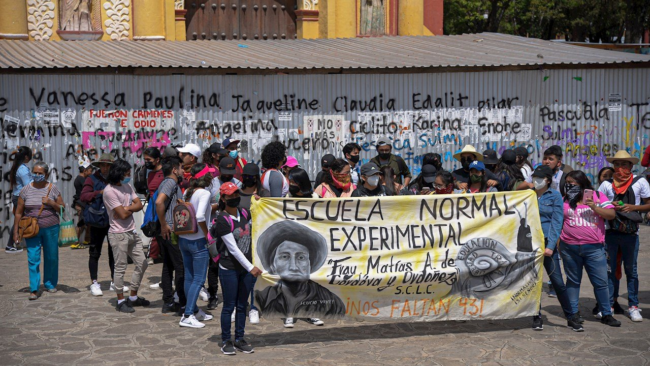 ONU pide indagar abusos en el arresto de 95 estudiantes en Chiapas