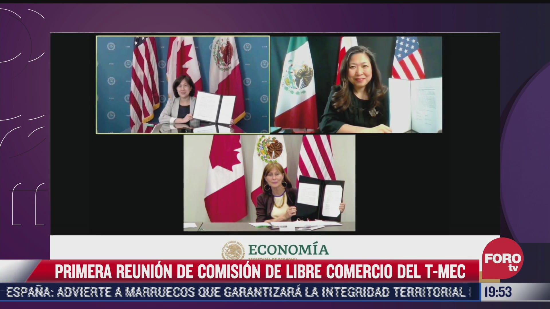 finaliza primera reunion de la comision de libre comercio del t mec
