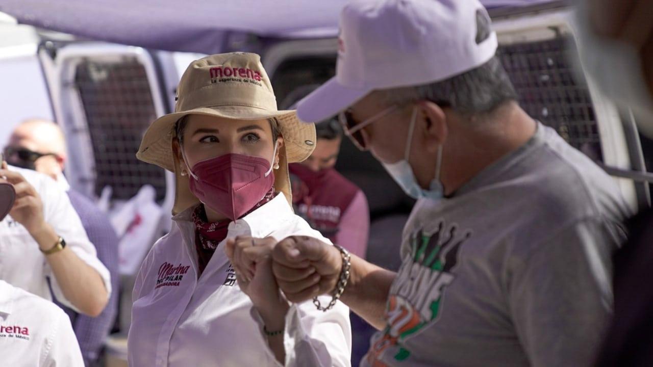 Candidata Marina del Pilar presenta plan de adultos mayores