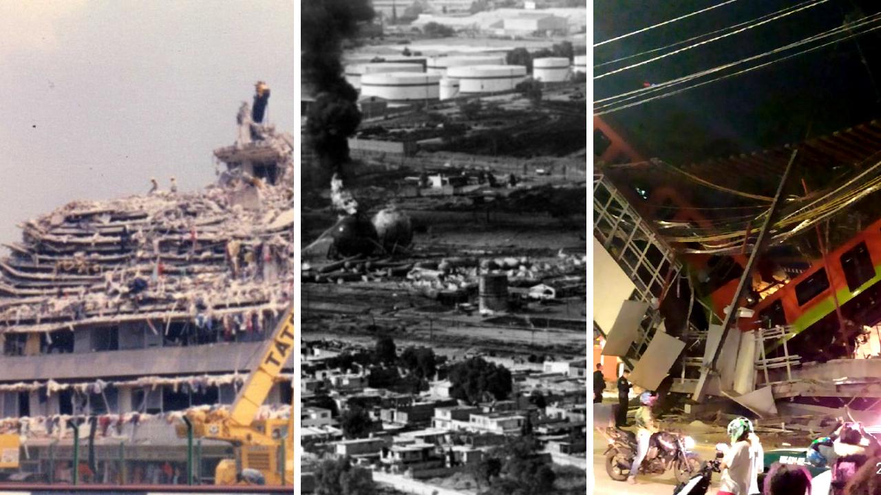 Las grandes tragedias de la CDMX: ¿Cuáles han sido?