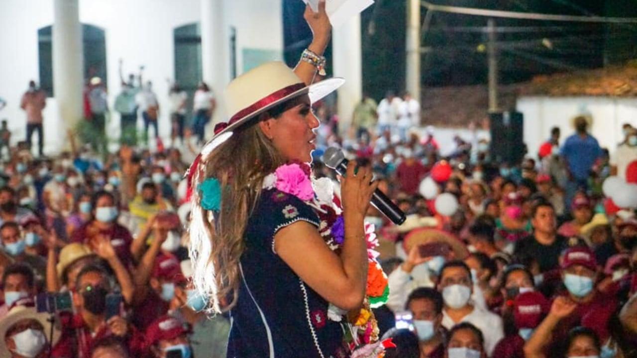 Evelyn Salgado no asistirá al debate de Guerrero