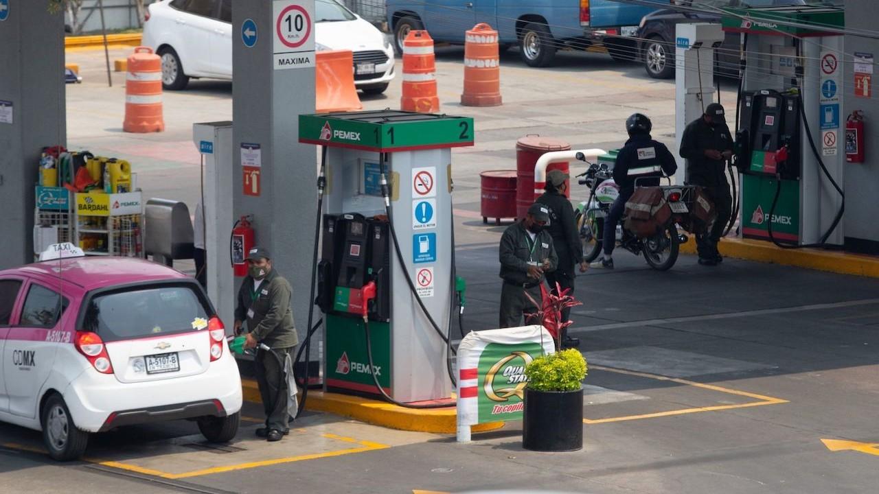 Gasolinera en CDMX (Cuartoscuro)