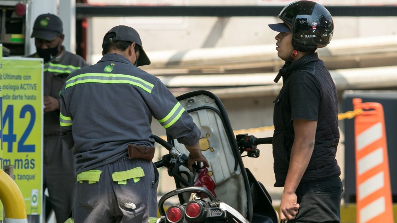 gasolina en la ciudad de México