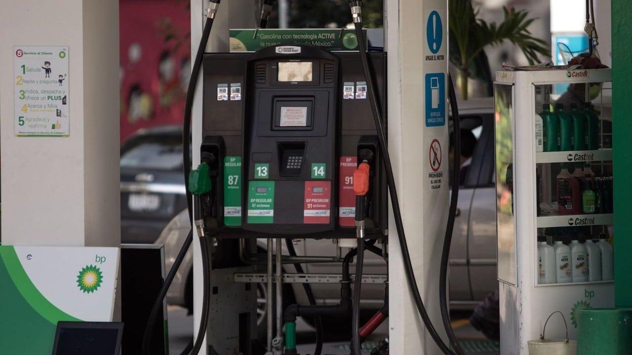Bombas de las gasolineras en la Ciudad de México (Cuartoscuro)