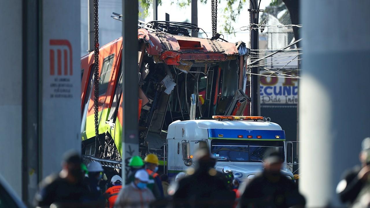 Identifican a 10 de los fallecidos tras accidente en la Línea 12 del Metro