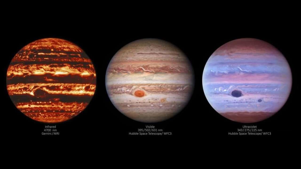 NASA revela imágenes de Júpiter nunca antes vistas