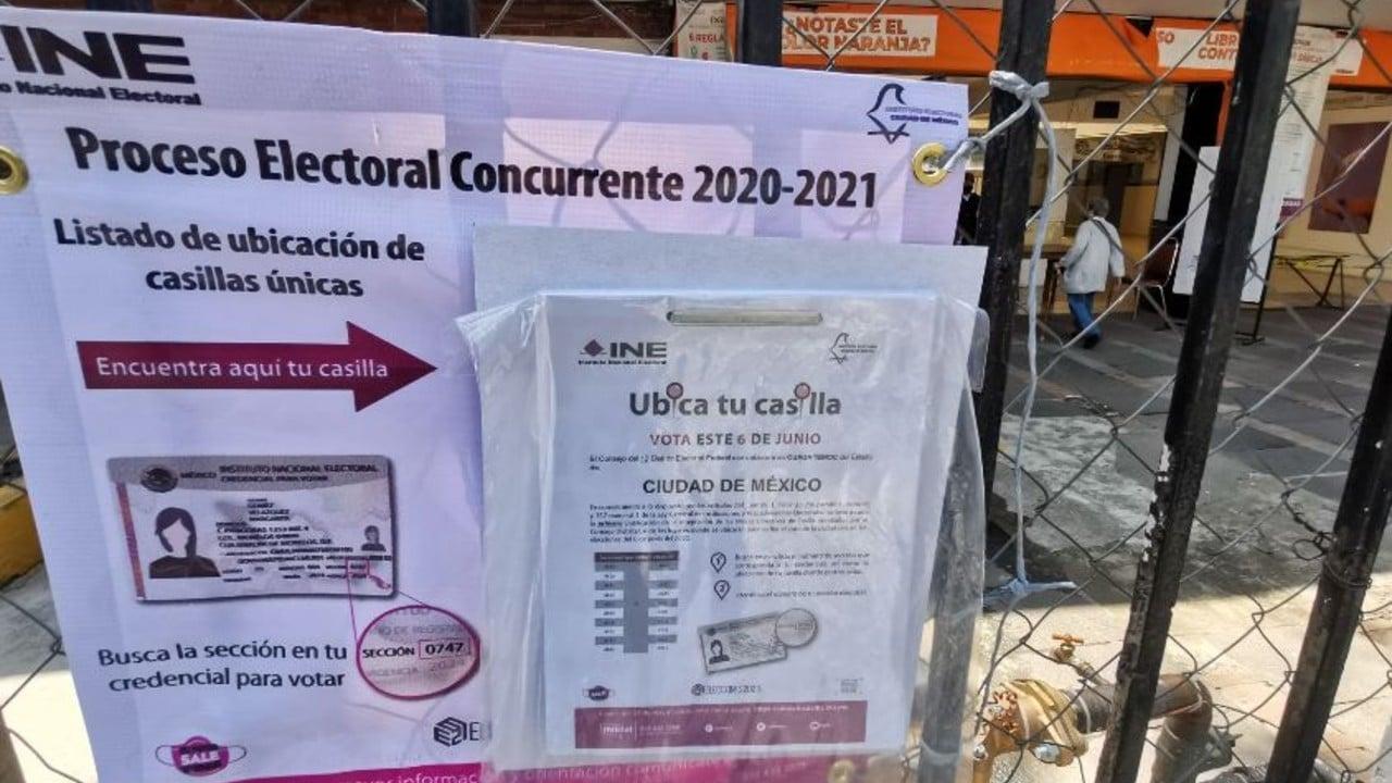 INE se prepara para la jornada electoral del 6 de junio de 2021