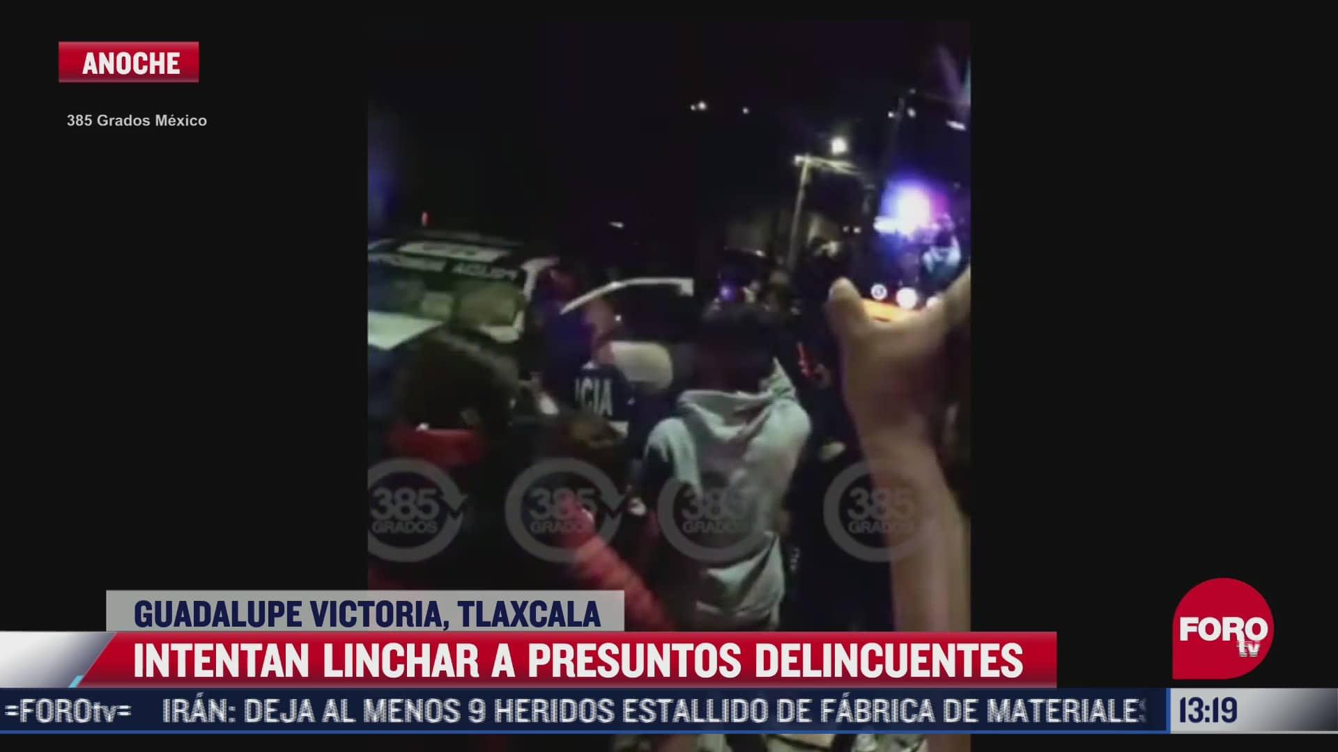 intentan linchar a presuntos delincuentes en tlaxcala