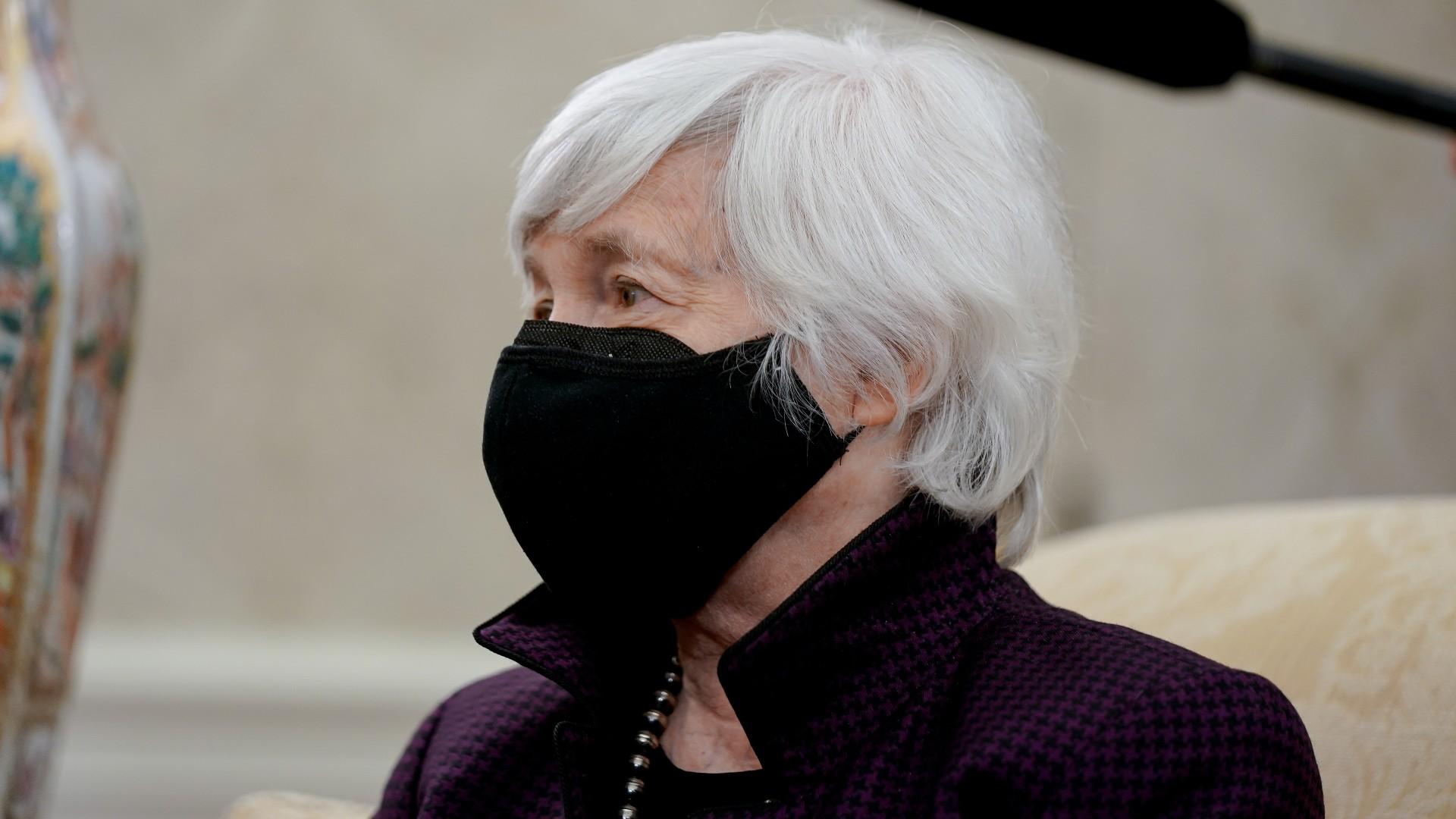Janet Yellen afirma que plan de gastos de Biden no provocará inflación