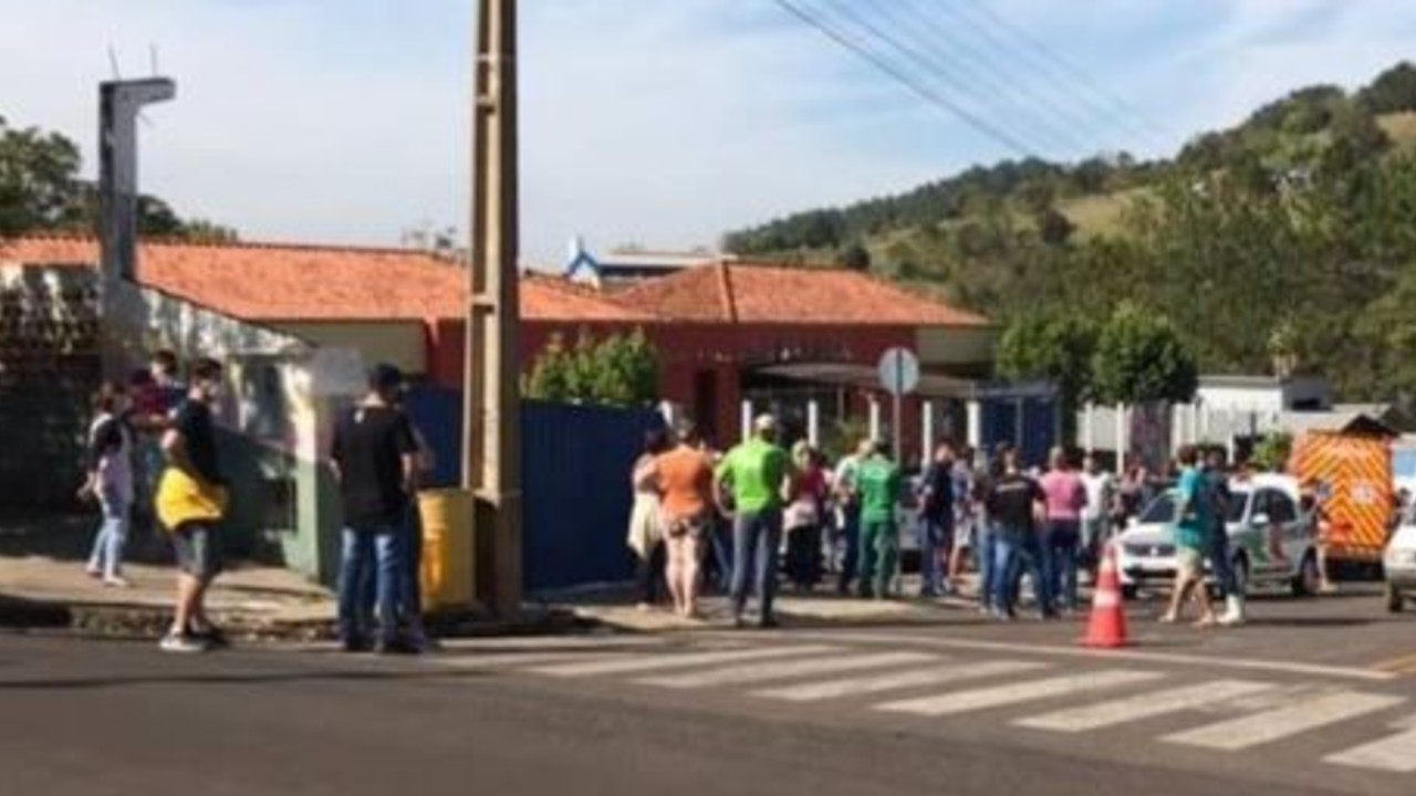 Joven invade guardería en Brasil