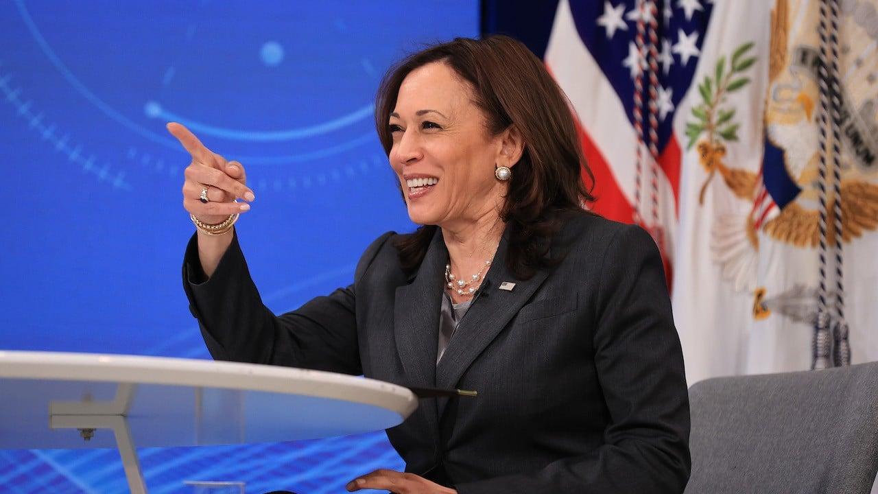 Kamala Harris, vicepresidenta de Estados Unidos (Getty Images)