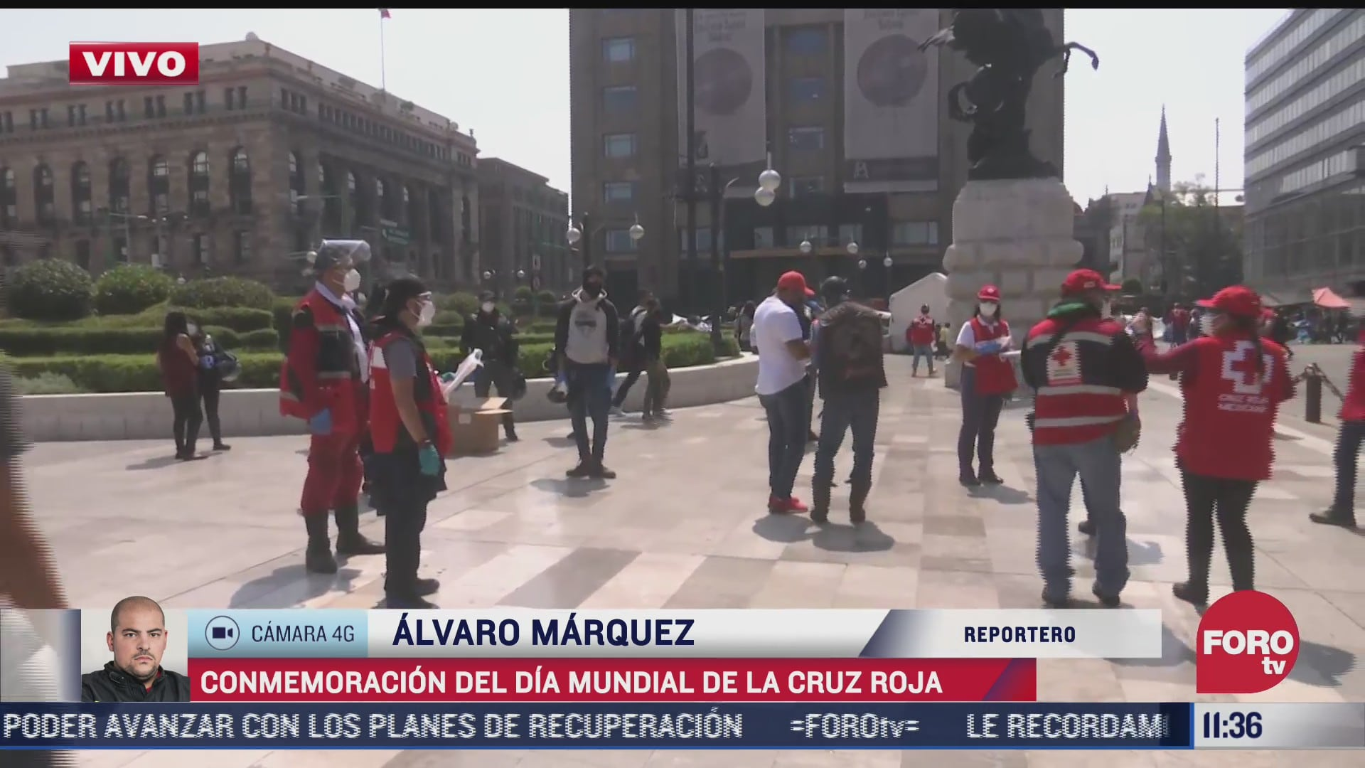la cruz roja celebra sus 125 anos