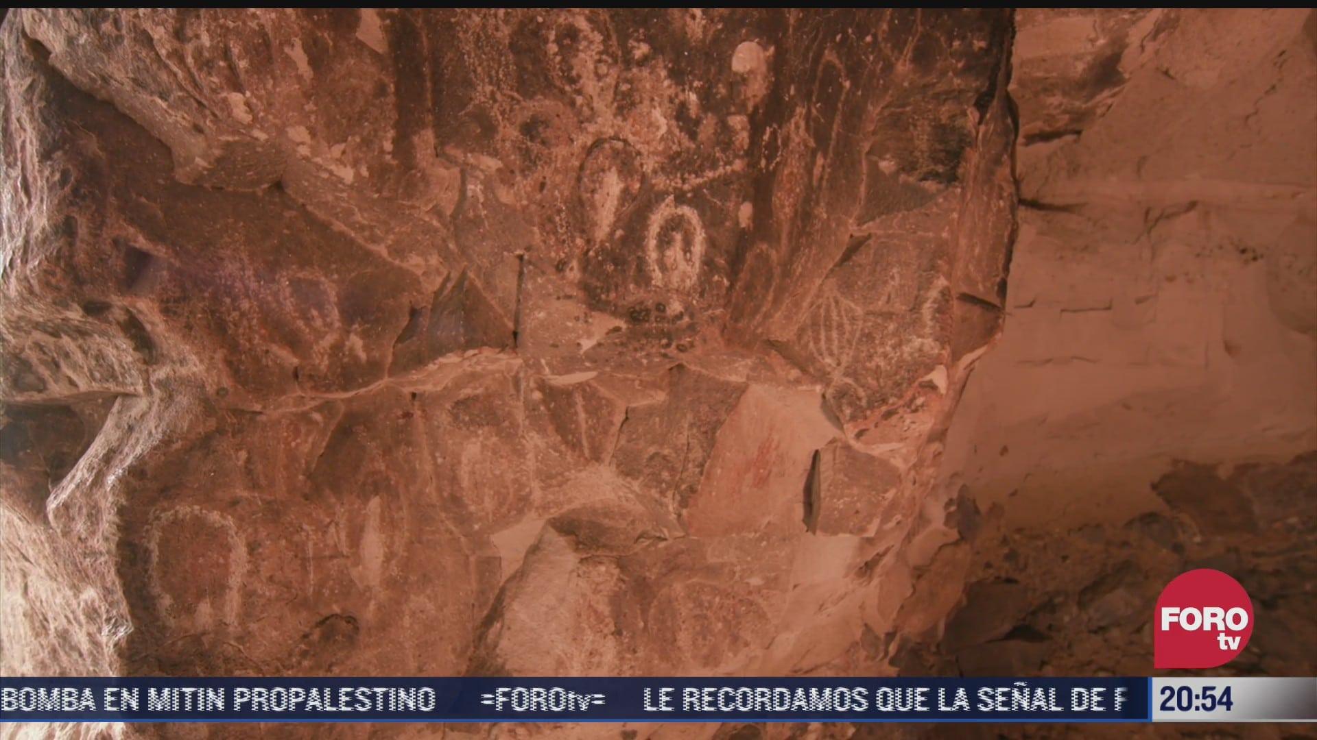 la cueva de san borjitas huellas del tiempo