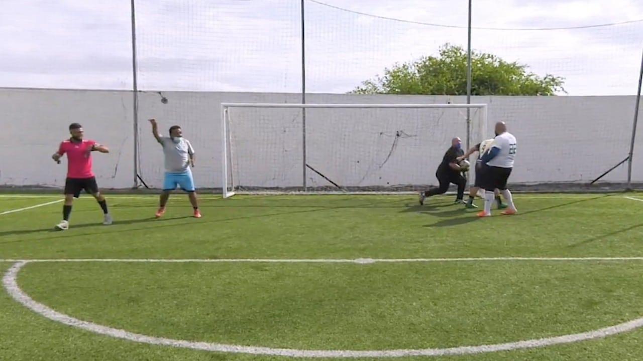 Liga de futbol para personas con sobrepeso y obesidad en Nuevo León pierde integrantes tras pandemia