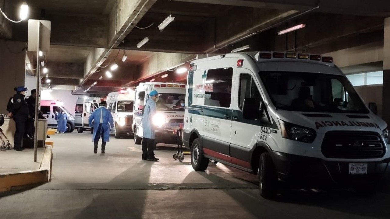 Listado de personas hospitalizadas por accidente en Metro Olivos Línea 12 CDMX