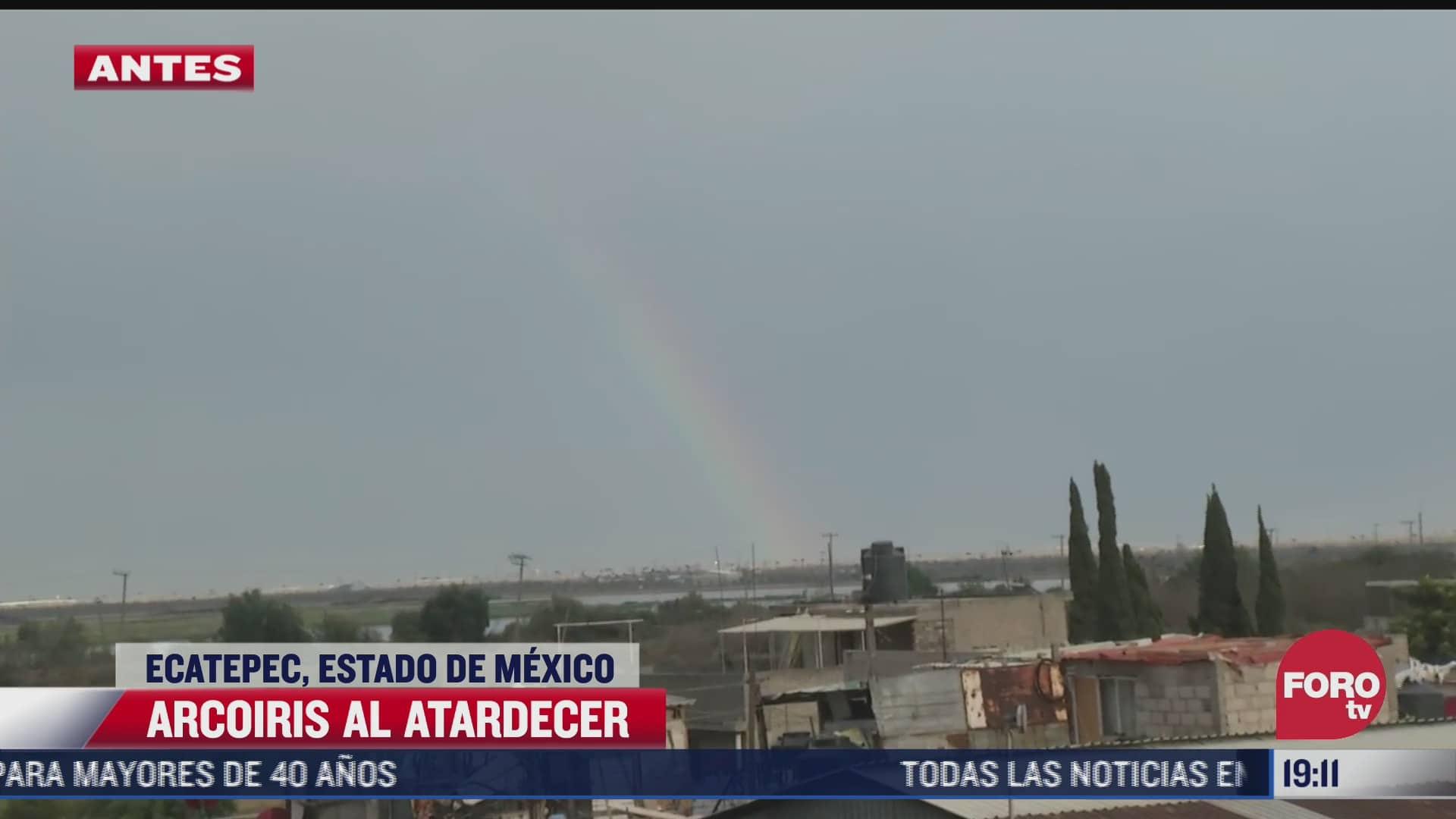 lluvia provoca encharcamientos en ecatepec
