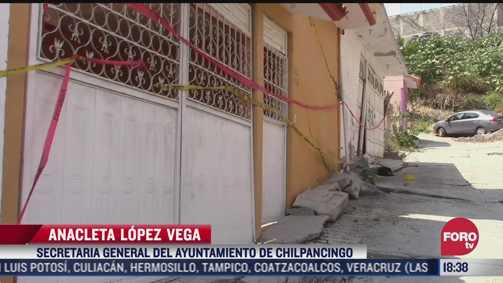 lluvias agravan situacion de casas danadas por huracanes en chilpancingo