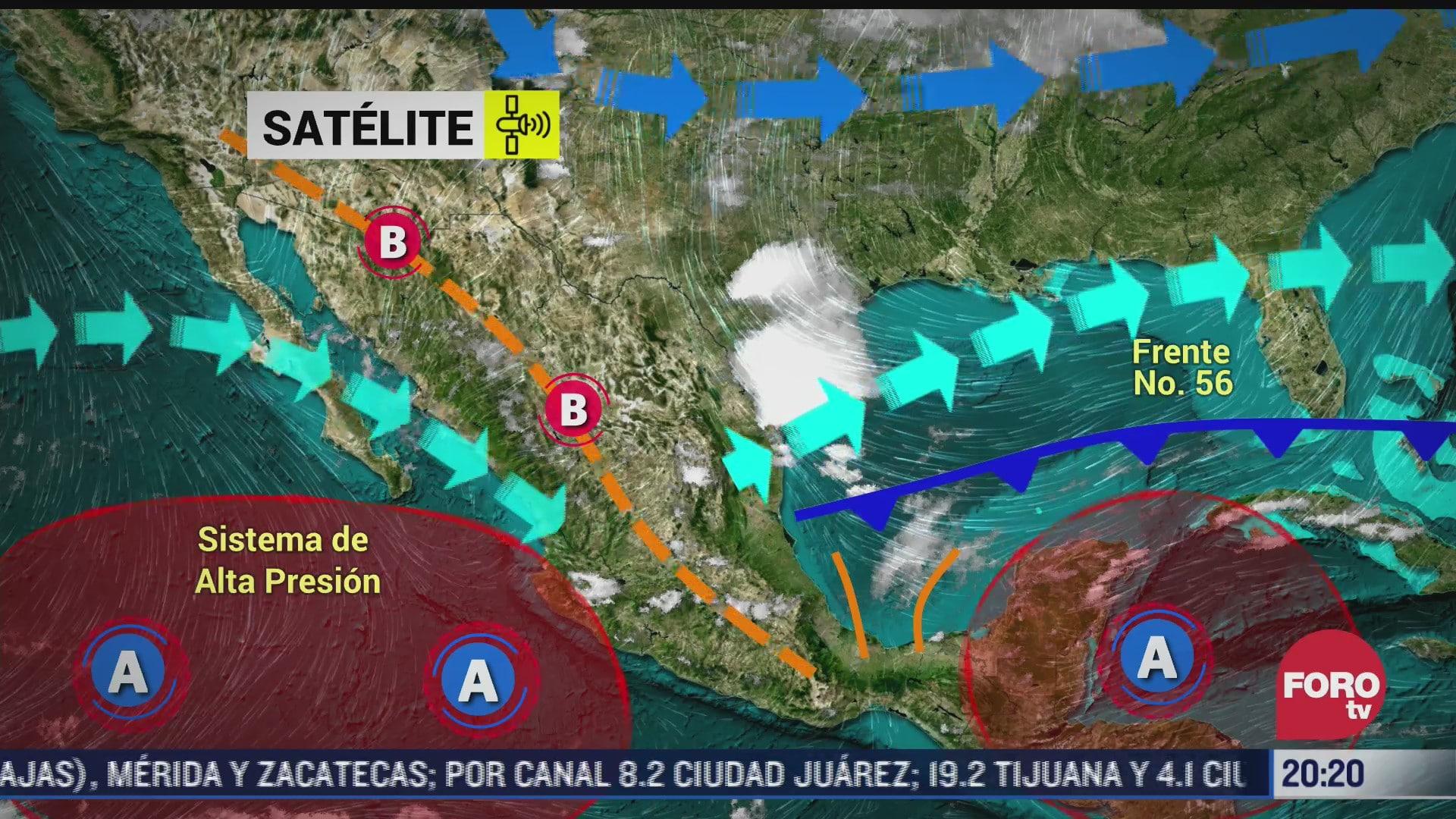 lluvias con descargas electricas en 9 estados del pais conagua