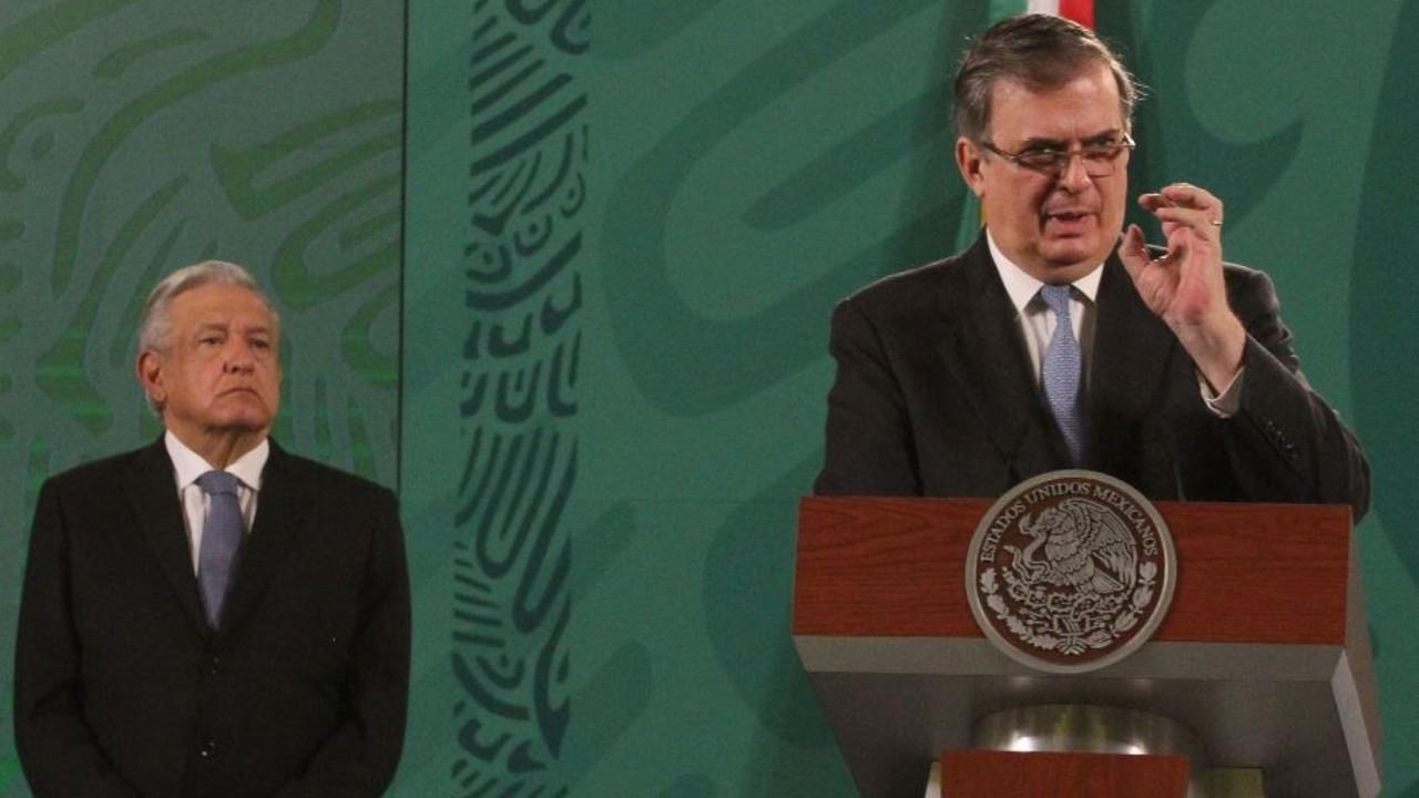 López Obrador y Marcelo Ebrard