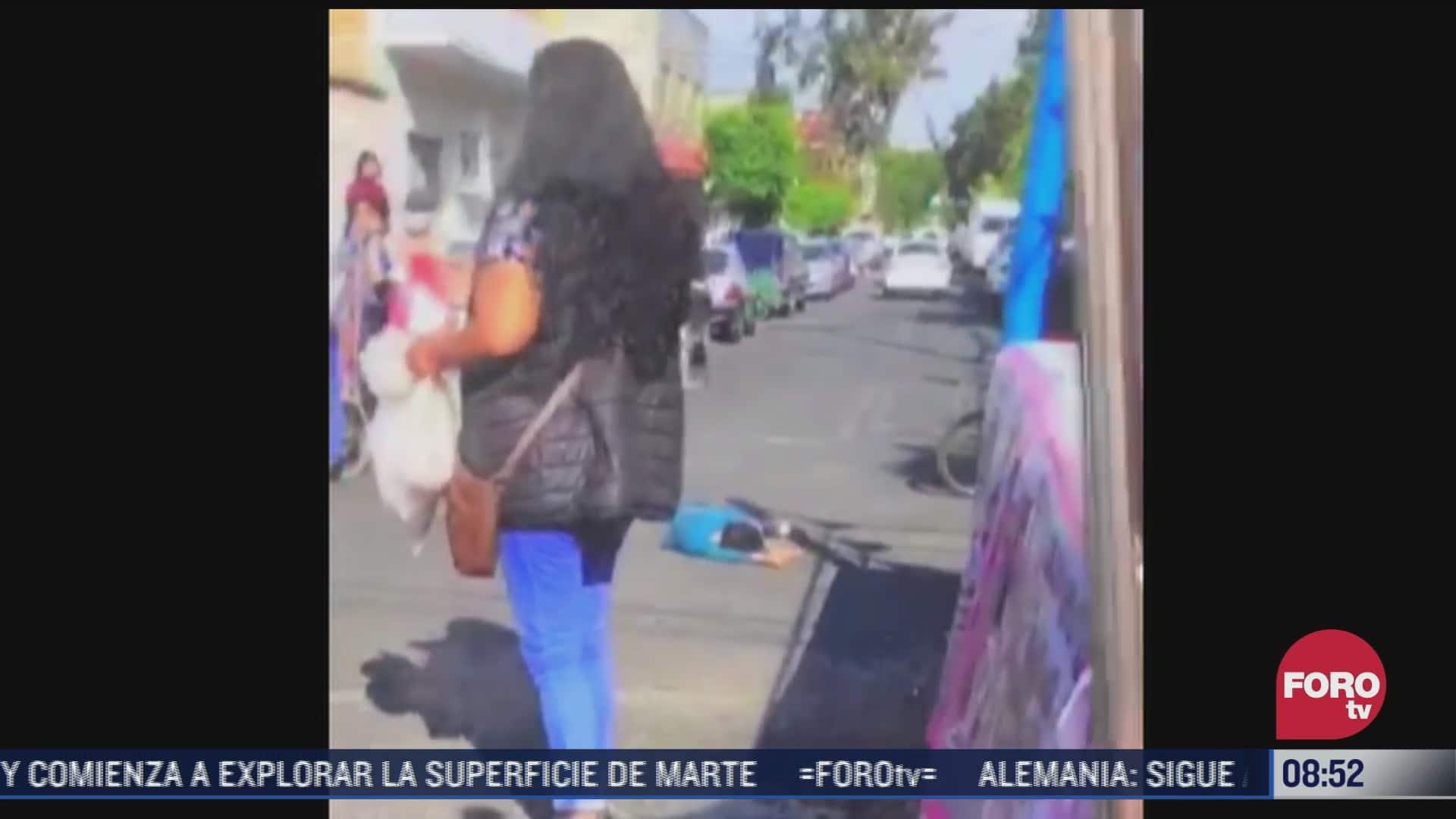 luchador agrede a nino en la ciudad de mexico