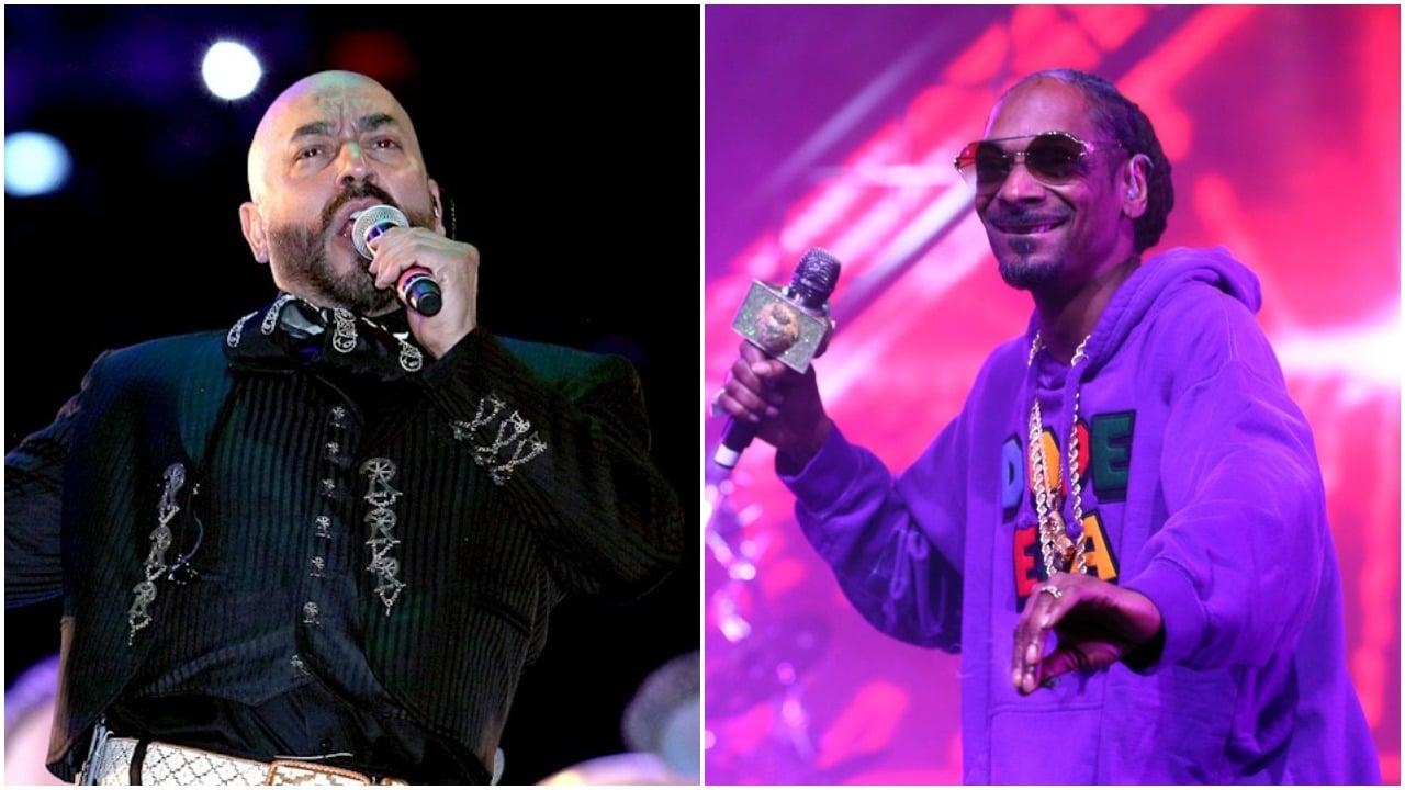 Lupillo Rivera y Snoop Dogg fueron juntos a la escuela y ahora lanzan canción Grandes Ligas juntos