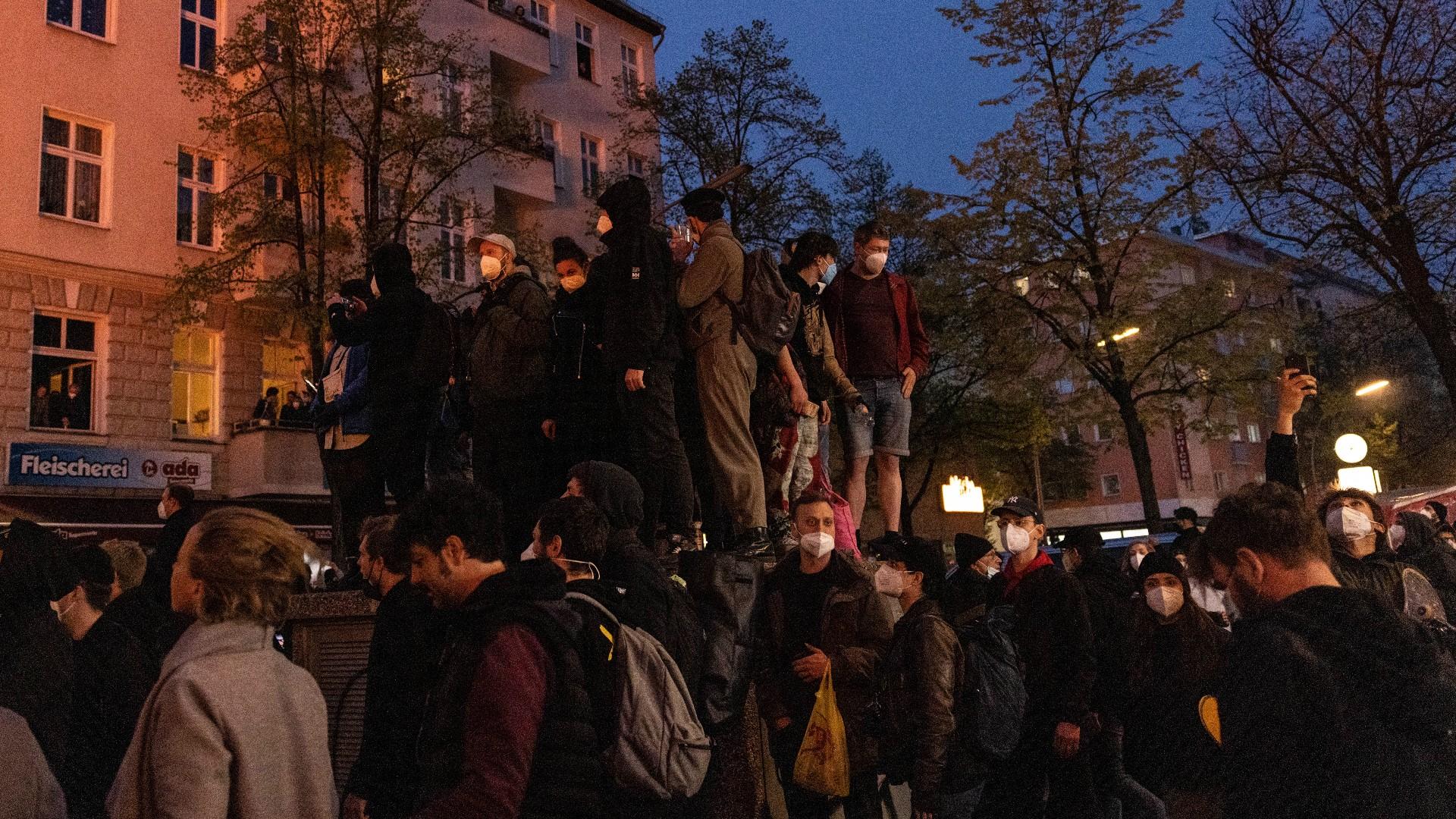 Manifestación en Alemania deja más de 300 detenidos y 93 policías heridos