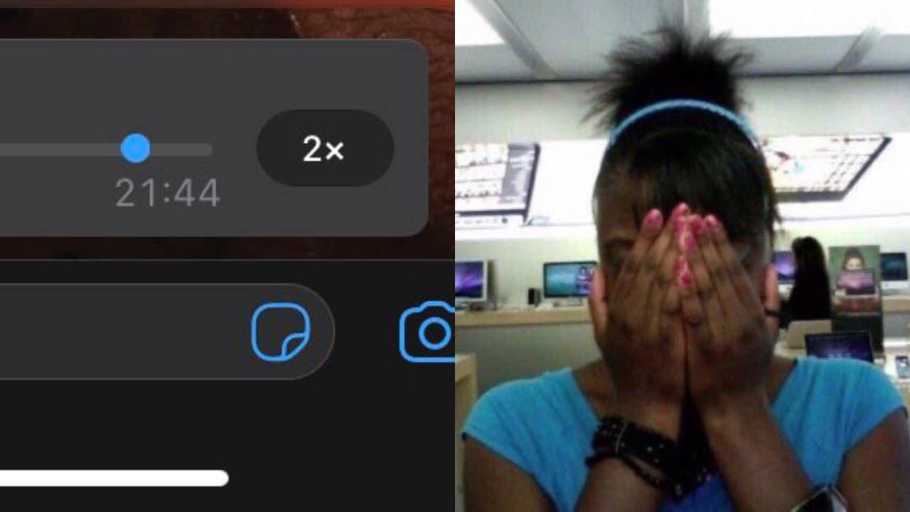 WhatsApp: Los memes sobre la función para acelerar el audio