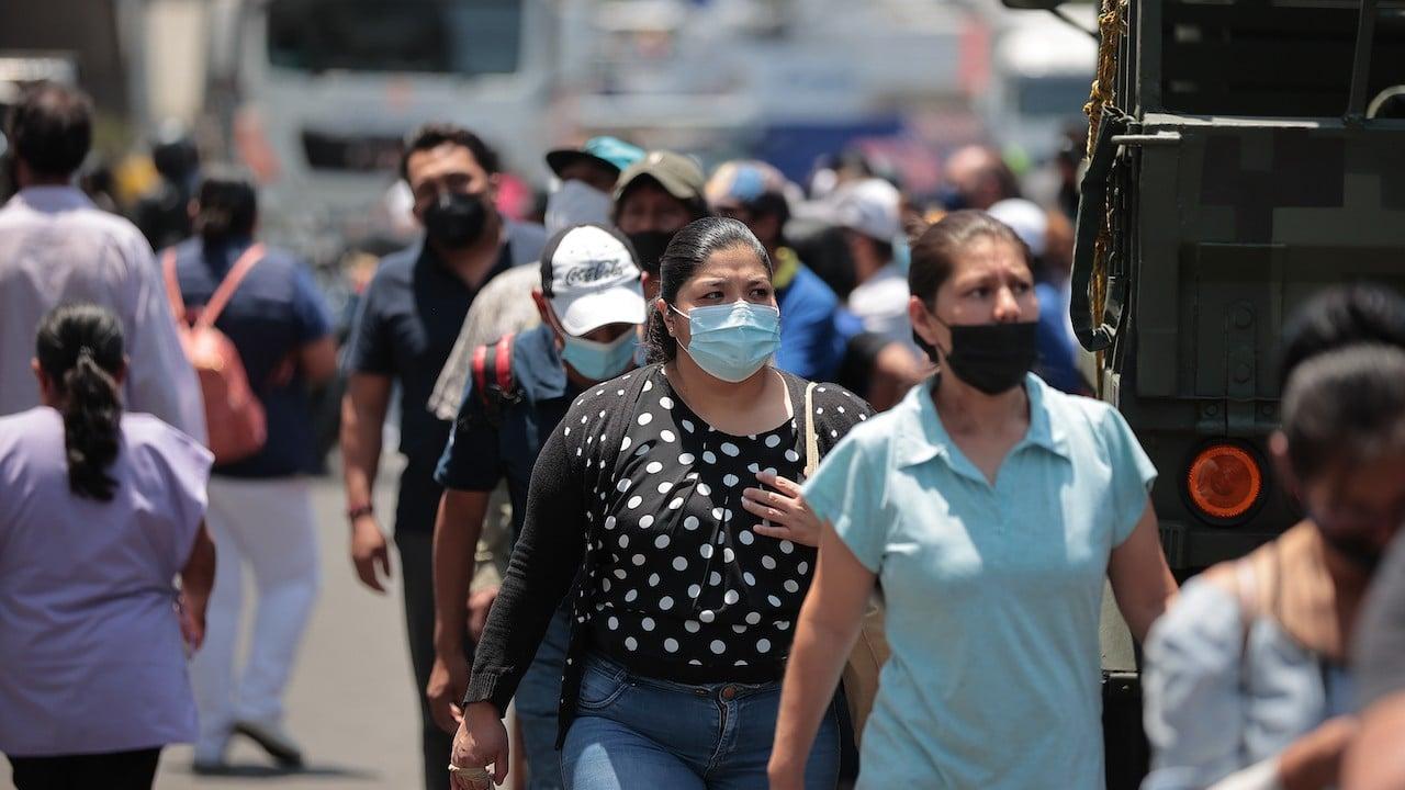 Habitantes de la Ciudad de México (Getty Images)