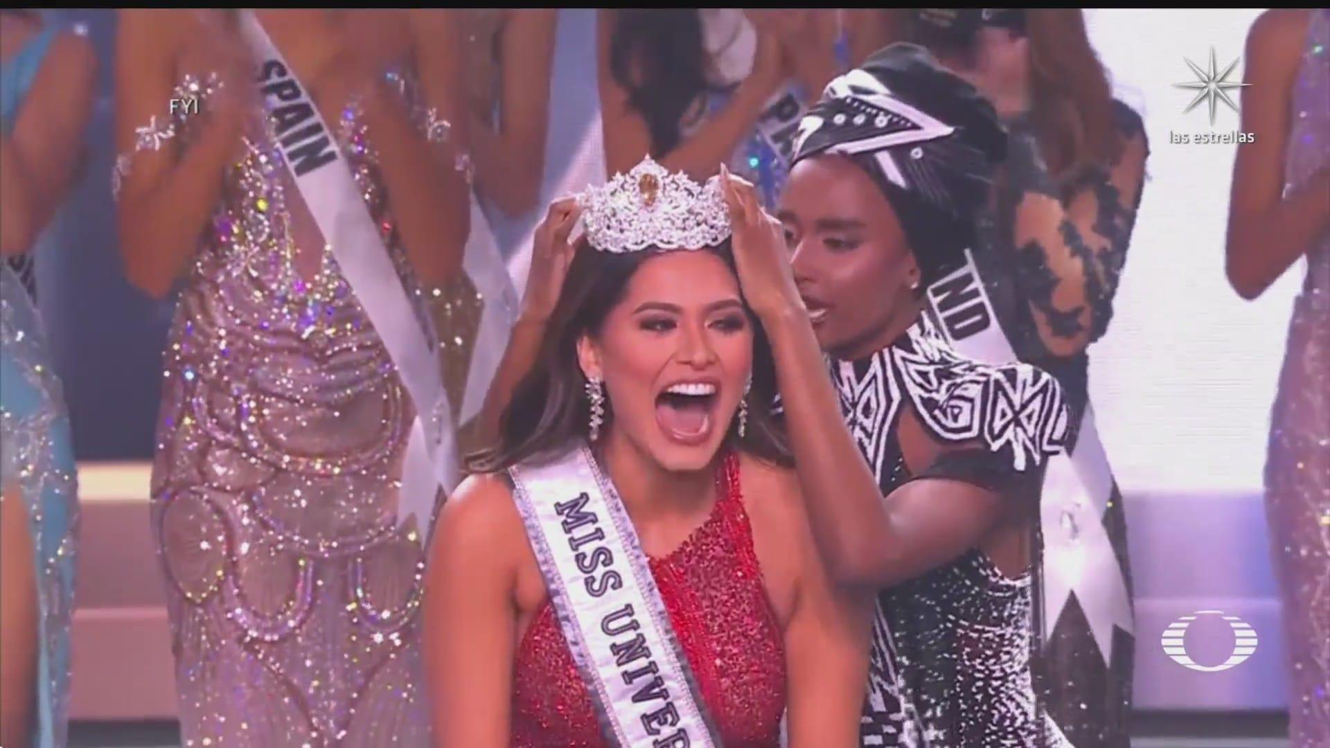 mexico gana por tercera vez el concurso de miss universo