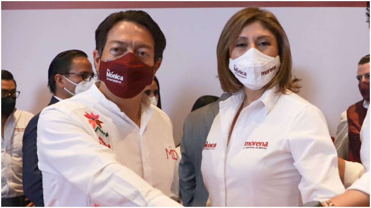 Mario Delgdo y Mónica Rangel