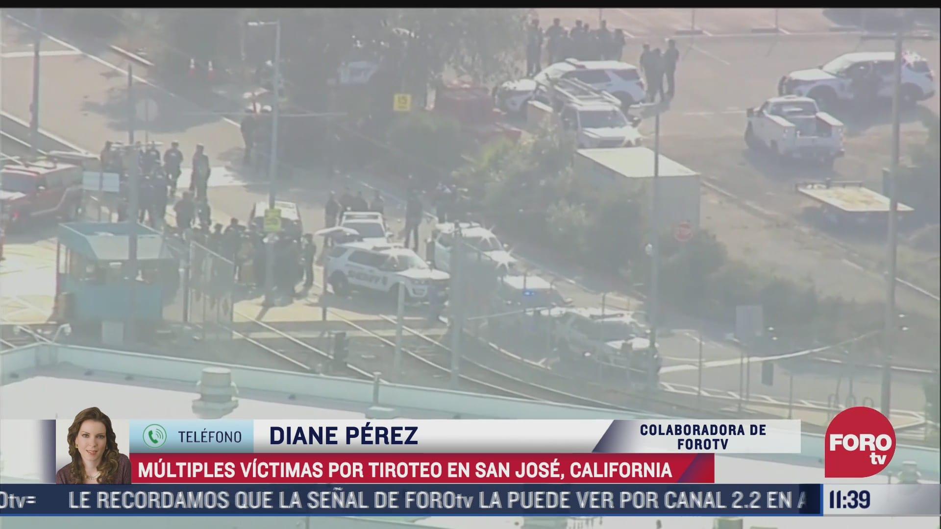 multiples victimas por tiroteo en san jose california