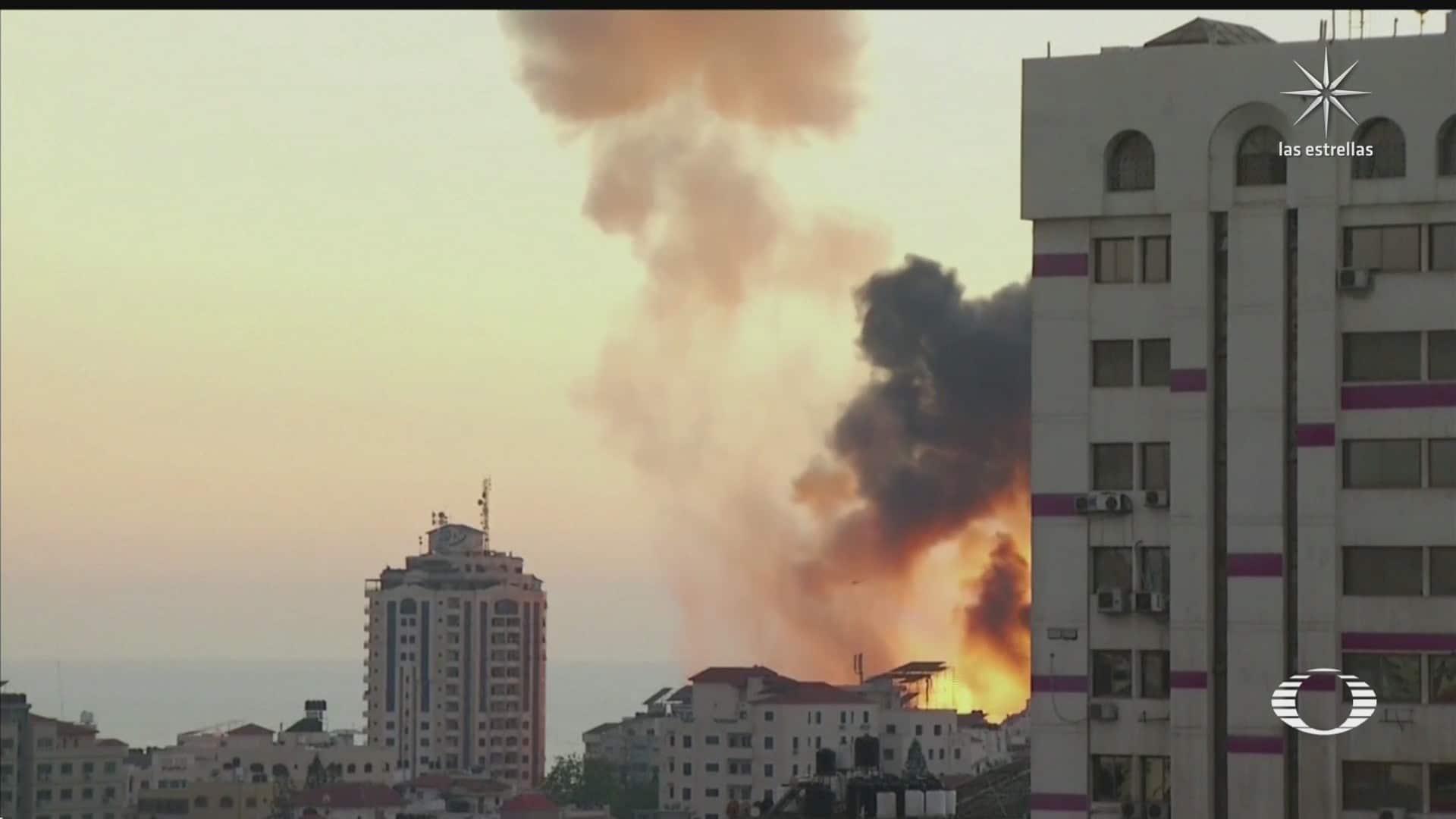 no cesan los ataques entre israel y hamas