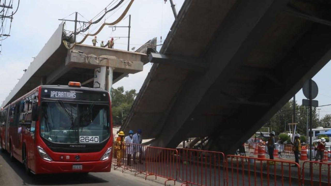 Este 26 de mayo iniciarán pruebas de Metrobús que apoyará ante el colapso en la L12 del Metro