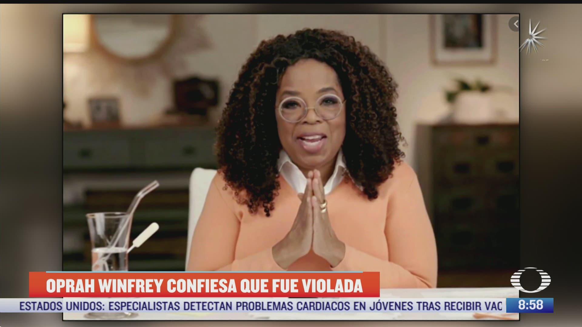 oprah winfrey confiesa que fue violada en varias ocasiones