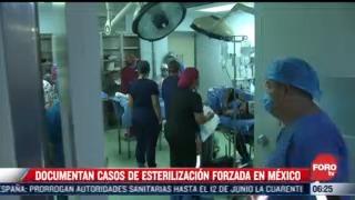 organizacion civil documenta ante scjn casos de esterilizacion forzada en mexico