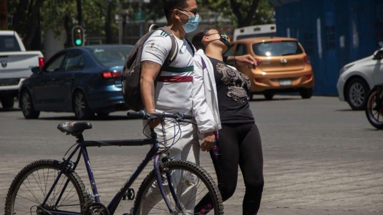 Paseo ciclista en la Ciudad de México