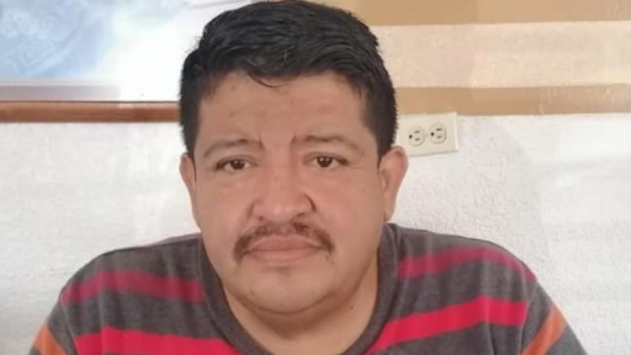 El periodista mexicano, Benjamín Morales (Twitter: @michelleriveraa)