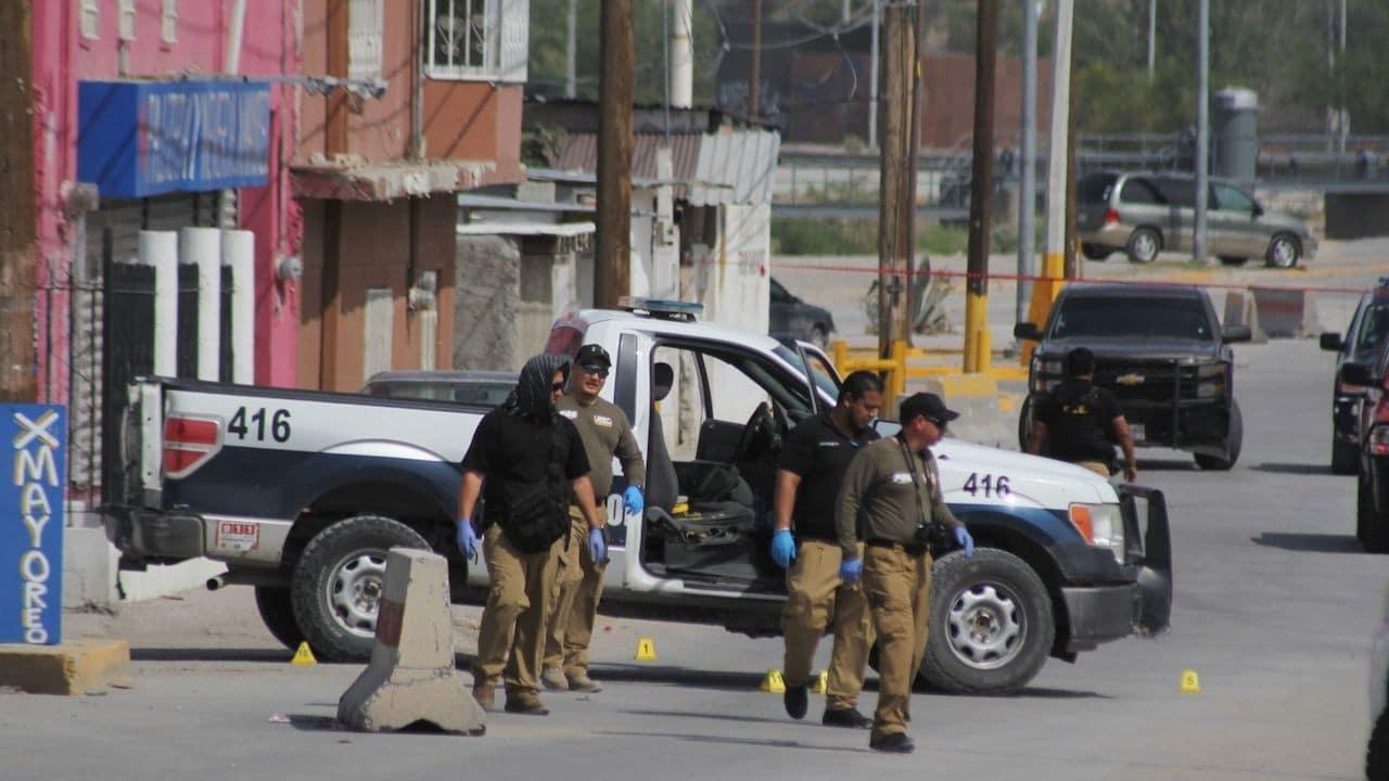 Autoridades en Ciudad Juárez (Cuartoscuro, archivo)