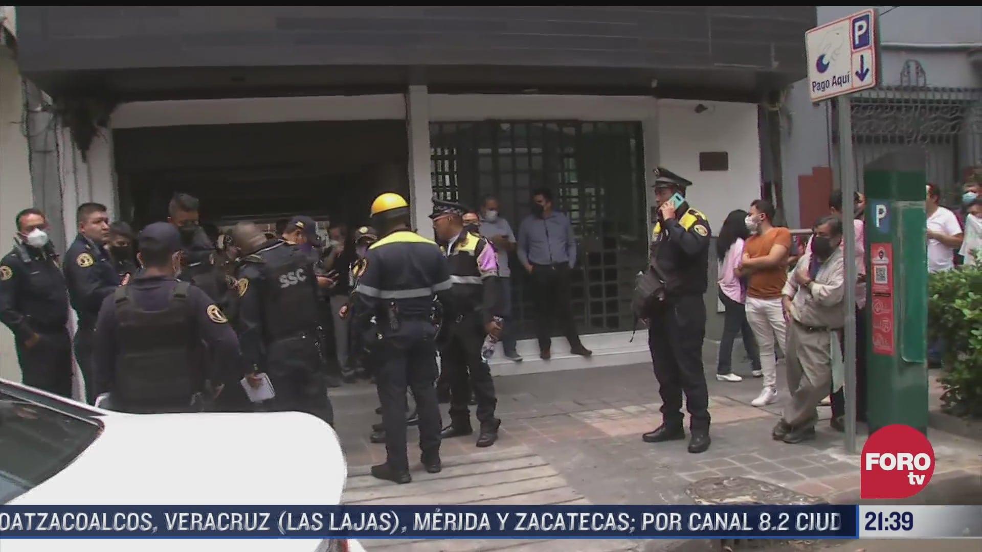 policia frustra asalto en la colonia juarez de la cdmx